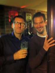Christmas drinks at The Hop 12--12-2015 (1)