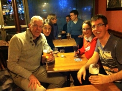Christmas drinks at The Hop 12--12-2015 (4)