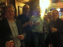 Christmas drinks at The Hop 12--12-2015 (5)