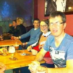 Christmas drinks at The Hop 12--12-2015 (6)