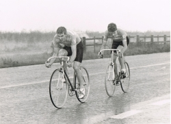 Malc (L) & Nick Hanson Rutland 25m 2UP 1983 56m45s club record