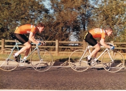 Malc (R) & Nick Hanson Calder 10m 2UP 1985