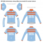 SW 40th Anniversary Jersey (Blue)