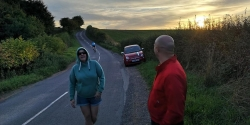 Doris Smith and Stuart Pickles Hilly 11 30082018